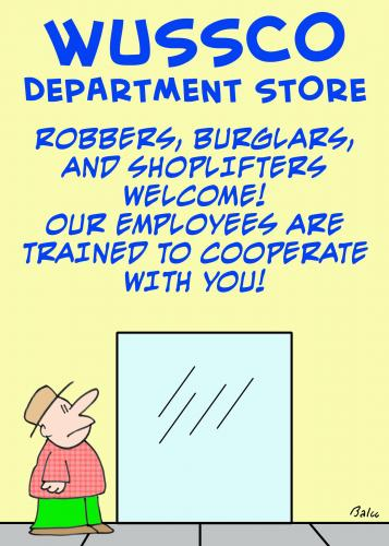 Cartoon: 1cooperate with you wussco (medium) by rmay tagged cooperate,with,you,wussco