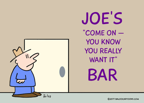 Cartoon: bar you really want it you know (medium) by rmay tagged bar,you,really,want,it,know