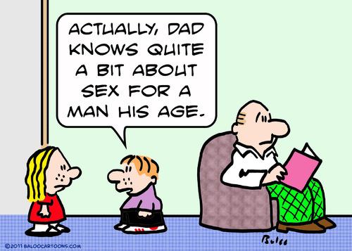 Cartoon: dad sex man knows his age (medium) by rmay tagged dad,