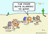 Cartoon: allergic sand desert crawlers (small) by rmay tagged allergic sand desert crawlers