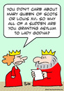Cartoon: asylum lady godiva king (small) by rmay tagged asylum,lady,godiva,king