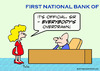 Cartoon: bank everybody is overdrawn (small) by rmay tagged bank,everybody,is,overdrawn