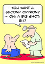 Cartoon: big shot second opinion doctor (small) by rmay tagged big,shot,second,opinion,doctor
