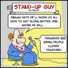 Cartoon: closer together obama sug (small) by rmay tagged closer,together,obama,sug