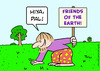Cartoon: earth friends pat hiya hippie (small) by rmay tagged earth friends pat hiya hippie