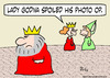 Cartoon: godiva lady kind spoiled photo o (small) by rmay tagged godiva,lady,kind,spoiled,photo,op