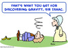 Cartoon: isaac newton gravity panana (small) by rmay tagged isaac,newton,gravity,panana