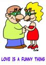 Cartoon: Love is a funny thing (small) by rmay tagged love,funny,groucho,glasses