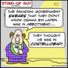 Cartoon: SUG costellobad osama pakistan (small) by rmay tagged sug,costellobad,osama,pakistan