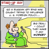 Cartoon: SUG make worse russian spy (small) by rmay tagged sug,make,worse,russian,spy