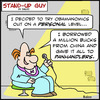 Cartoon: SUG panhandlers obama (small) by rmay tagged sug,panhandlers,obama
