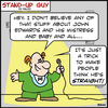 Cartoon: SUG think hes straight john edwa (small) by rmay tagged sug,think,hes,straight,john,edwards