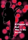 Cartoon: If Clapton is God... (small) by Curt tagged clapton,god,jimmy,page,led,zeppelin,gitarre,gitarrist